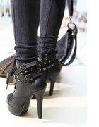 Czarne botki