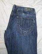 jeansowe biodrówki W31