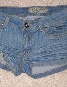 Jeansowe szorty M