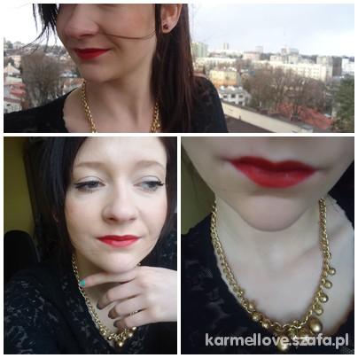 Eleganckie red lips