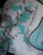 turkusowy plecak QUECHUA