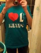 koszulka z nadrukiem I love Peter