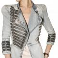 Balmain style military blazer