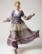długie sukienki w stylu hippie