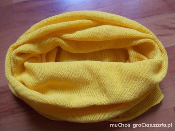 Chusty i apaszki Żółty Komin