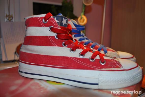 Converse flaga USA w Trampki Szafa.pl