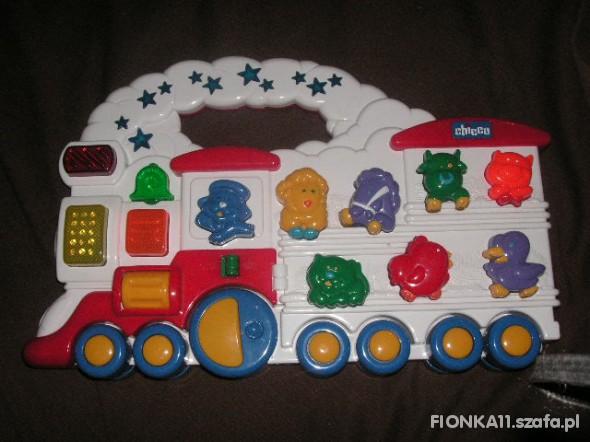 Zabawki DUŻY PANEL CHICCO CIUCHCIA