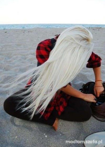 blond...