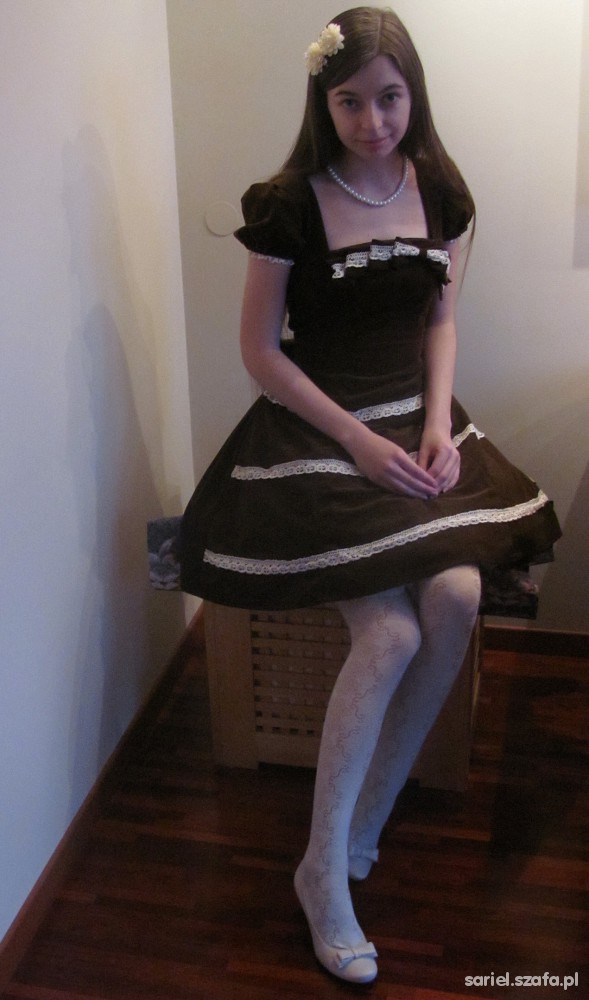 Vintage Classic Lolita handmade OP