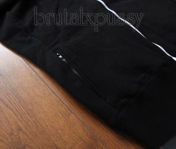 14 NOWA bluza czarna KASTET GLOVESTAR jak Adidas L w Bluzy