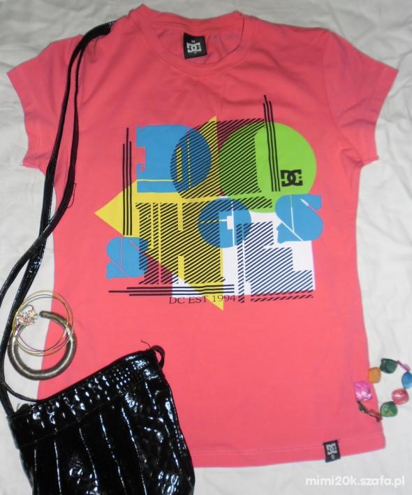 Bluzki bluzka marki DC różowa nowa