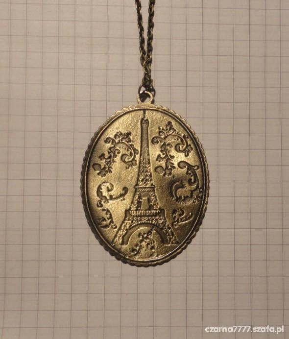 NASZYJNIK PARIS kolorze starego złota