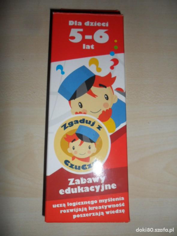 Zabawki Nowa gra edukacyjna Zgaduj z Czuczu