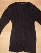 Czarny sweter kartigan rozmiar M małe L
