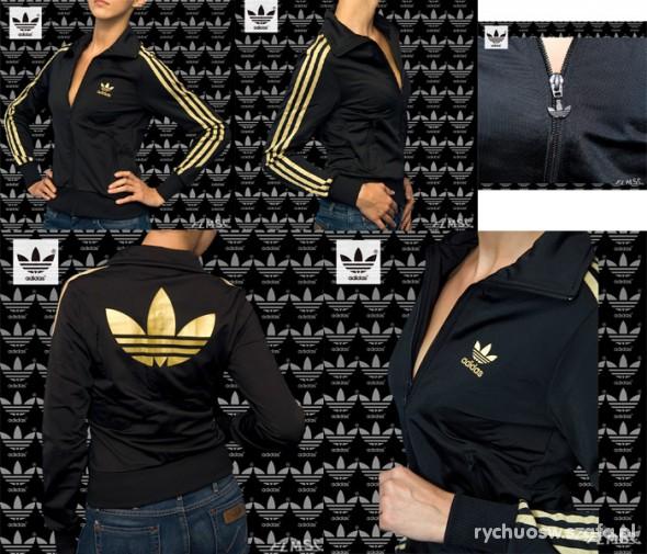 bluza adidas firebird damska czarna