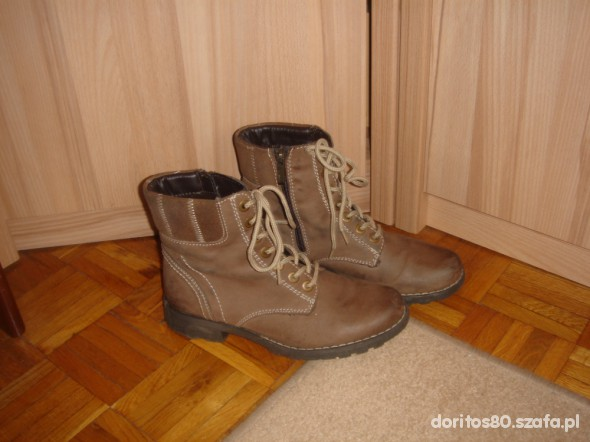Workers boots skóra