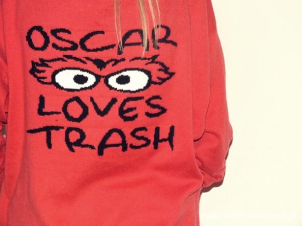 Swetry Ulica Sezamkowa mój ulubiony oversize