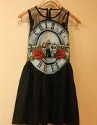 guns n roses sukienka