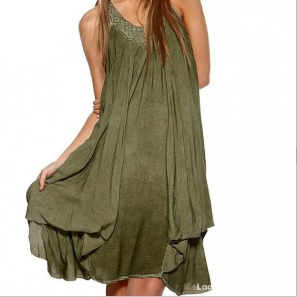 Sukienka gotycka oliwka 38...