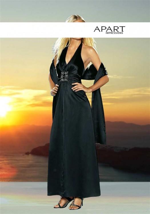 APART Elegancka jedwabna suknia 44...