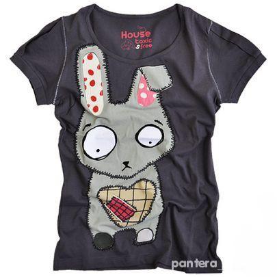 Tshirt z królikiem House