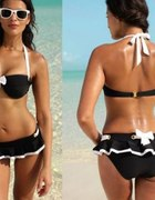 Strój kąpielowy bikini kokardki