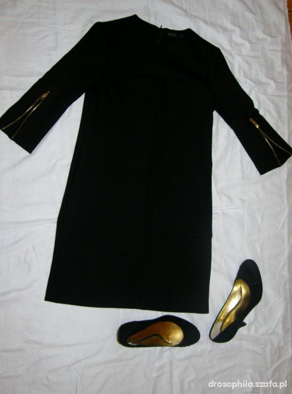 Eleganckie Sukienka ala Twiggi
