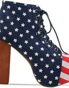 Botki flaga USA