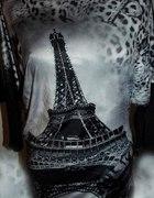 Koszulkabluzka z wieżą Eiffla