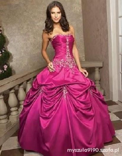 Ślubnie na różowo