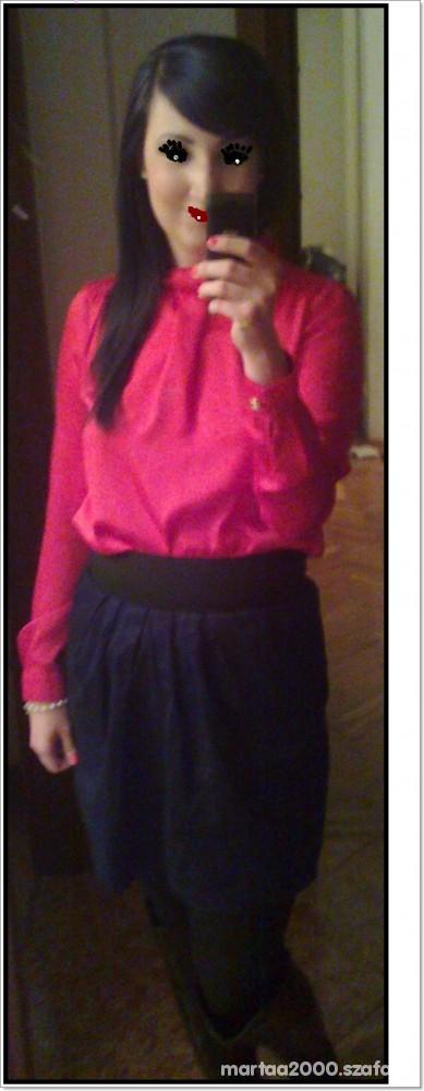 Mój styl jedwabna bluzeczka