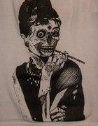 Koszulka bokserka Zombie Audrey Hepburn Restyle