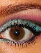 Kolorowe kocie oko