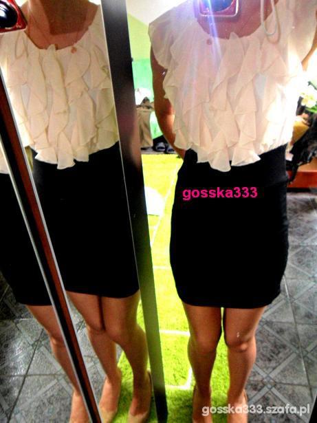 PROMOCJA sukienka 2w1 żaboty z UK