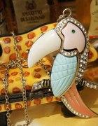 naszyjnik w kolorze starego złota TUKAN