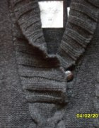 Sweter HM Graft albo Beż