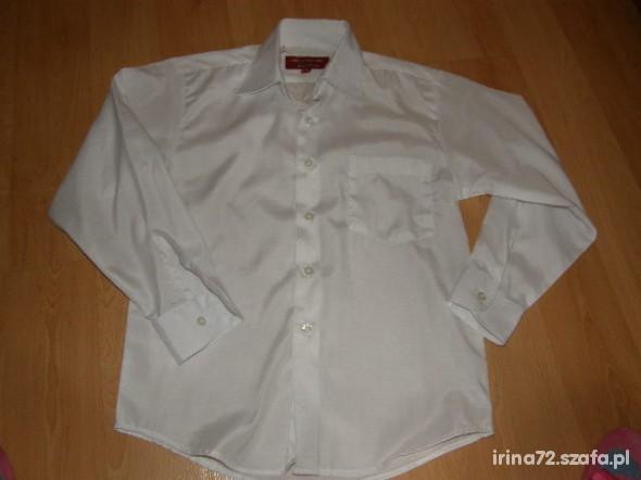 Koszulki, podkoszulki Biała elegancka koszula wyjściowa 128