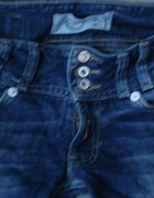 spodnie bershka biodrowki rurki 34