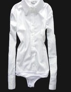 SG Klasyczna koszula body L biała