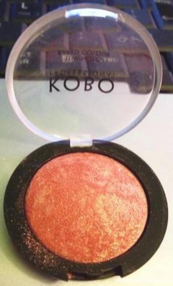 KOBO CIEŃ luminous baked colour 102 peach blush
