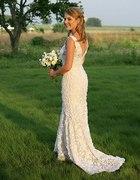 Suknia ślubna koronkowa...