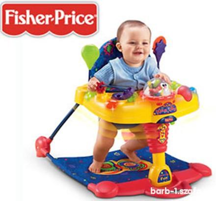 Zabawki FISHER PRICE skoczek TAKE ALONG HOP N POP