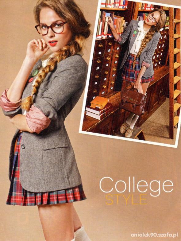 Do szkoły College Style