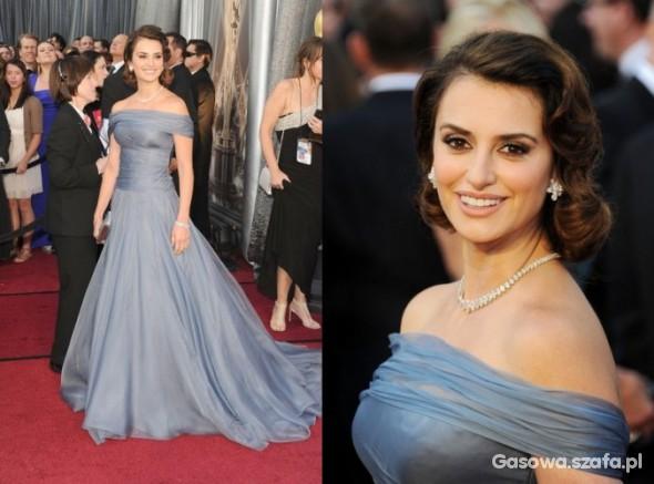Wasze inspiracje Penelope Cruz Oscary 2012
