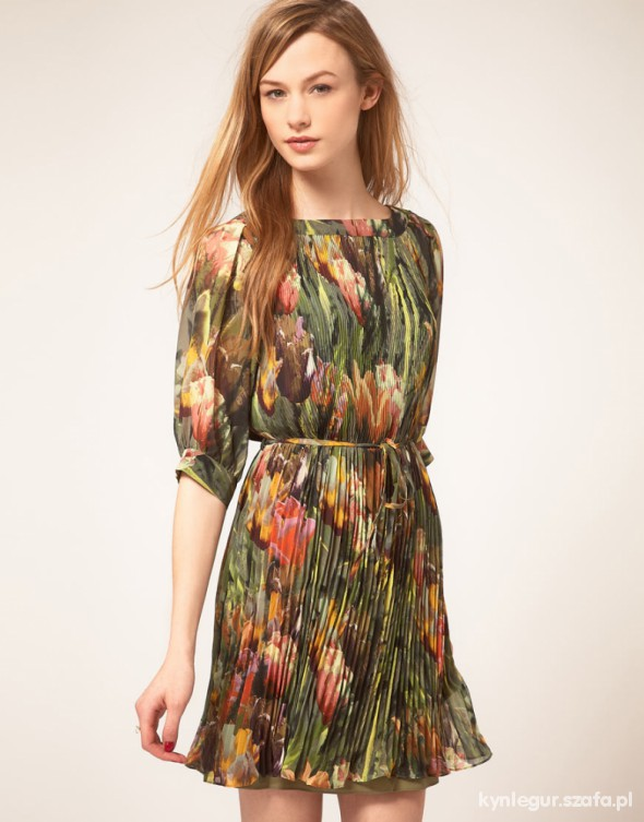 Ted Baker Tulip Print Shift Dress