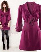 Fioletowa sukienka H&M