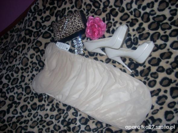 Bandage nude perełka