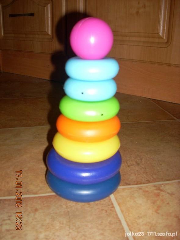 Zabawki rozkładana piamida
