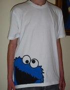 Malowana koszulka męska...