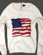 NOWA BLUZA USA ZAMEK WIOSNA 2012 36 S